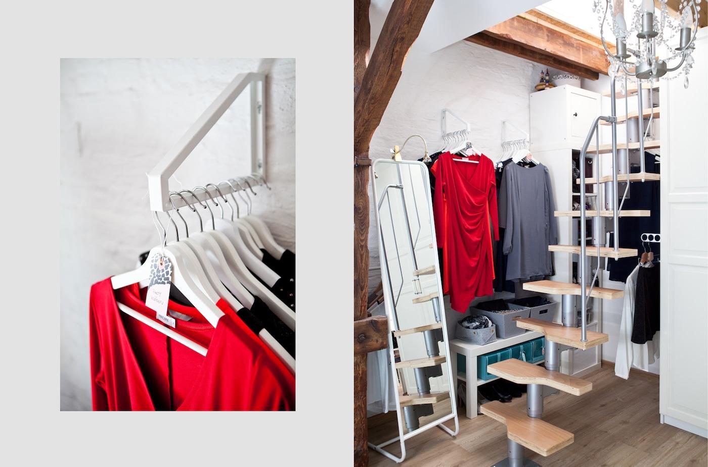 mehr raum zur aufbewahrung von kleidung ikea. Black Bedroom Furniture Sets. Home Design Ideas