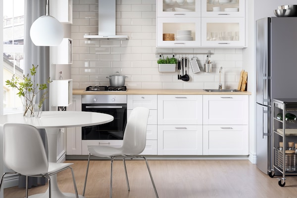 Kleine Kuche Einrichten Platz Optimal Nutzen Ikea