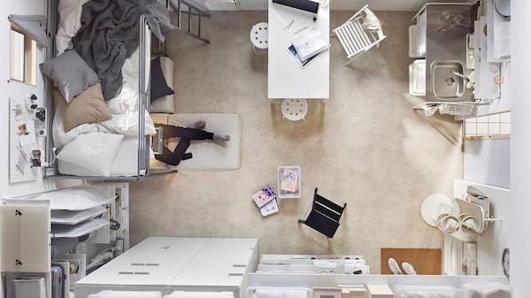 Kleine Wohnung einrichten - small spaces