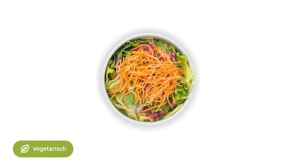 Kleiner grüner Menüsalat