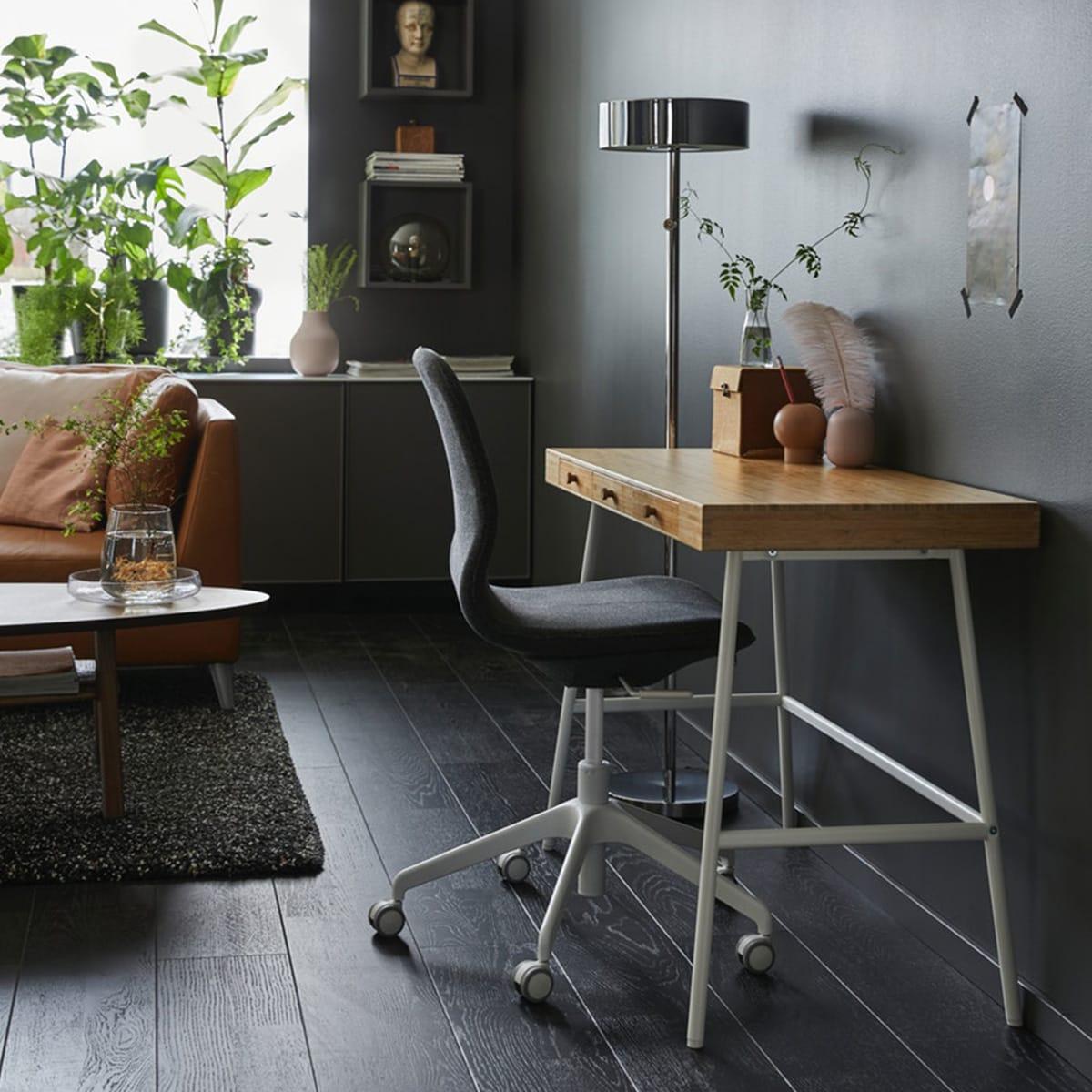 Arbeitsplatzinspirationen Ikea