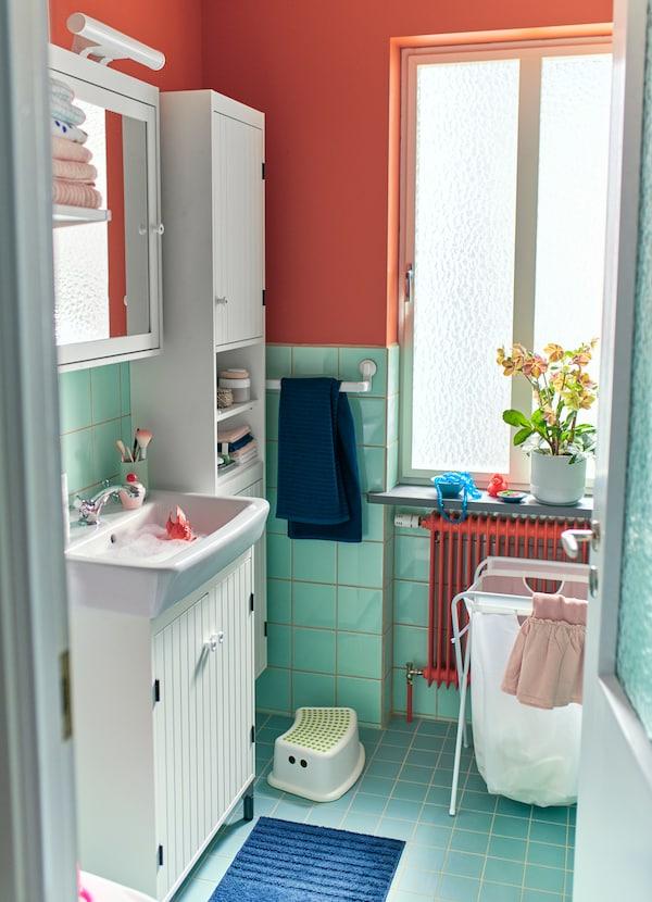 Kleines Badezimmer: Platz optimal nutzen - IKEA