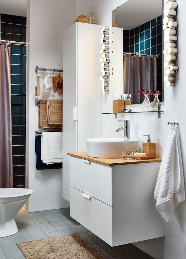 Mehr Wellness-Feeling in deinem Badezimmer - IKEA