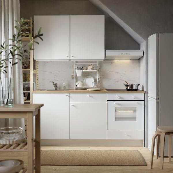 knoxhult cuisine blanche complete pour petit prix