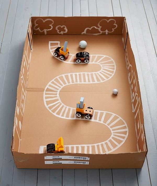 Wonderbaarlijk Knutselen met karton - IKEA VN-03