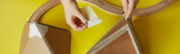 Ongebruikt Knutselen met karton - IKEA EH-44