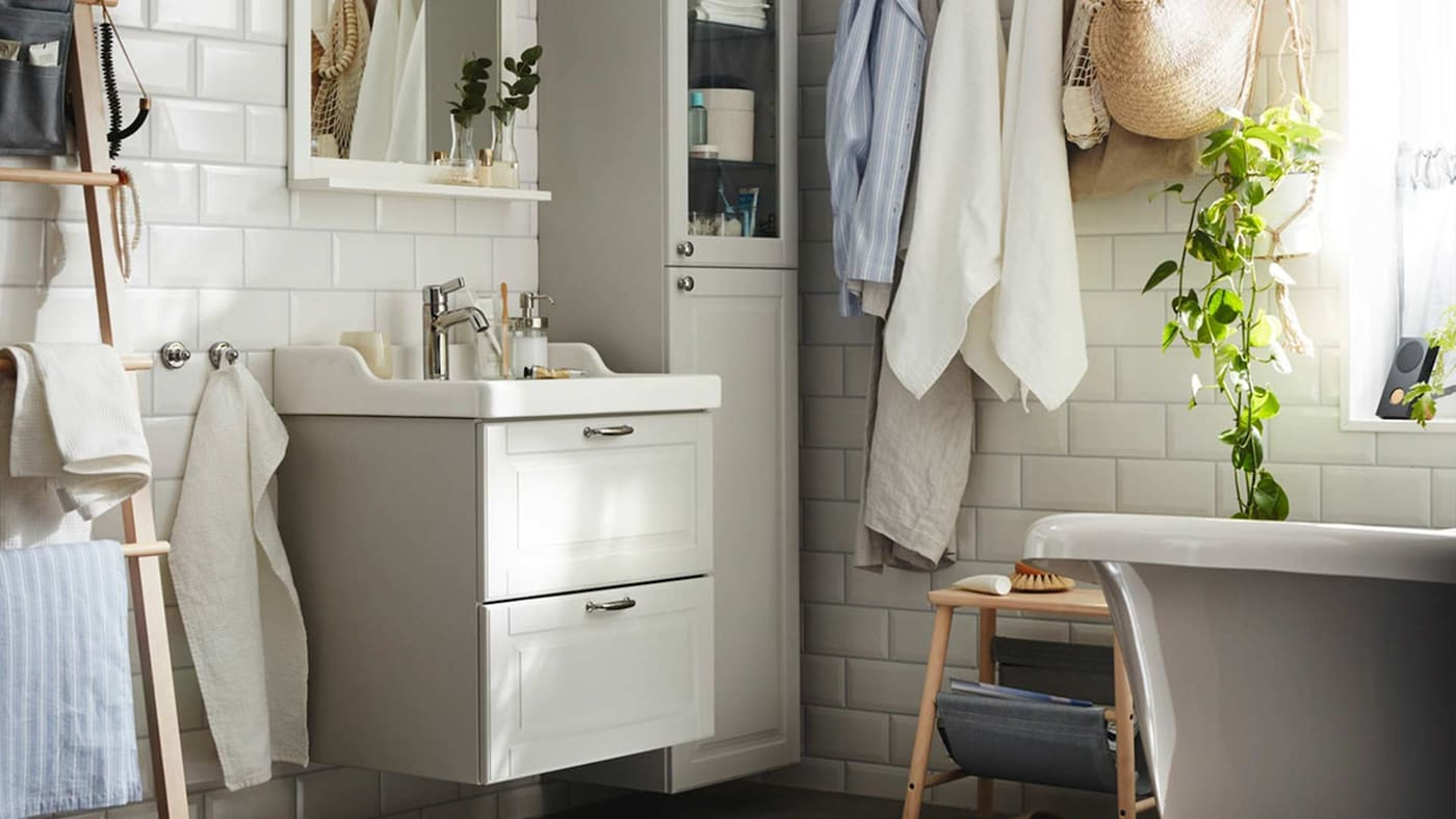 Badmöbel & Badezimmer-Aufbewahrung günstig kaufen - IKEA Österreich