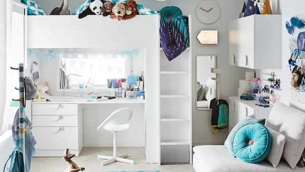 Kompletný návrh detskej izby.