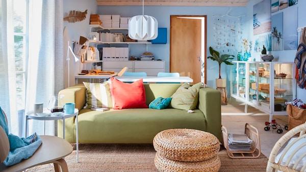 Konzultace s designérem pro útulnější domov.