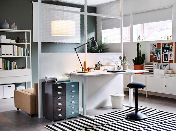 Arbeitszimmer Kreativ Einrichten Ikea