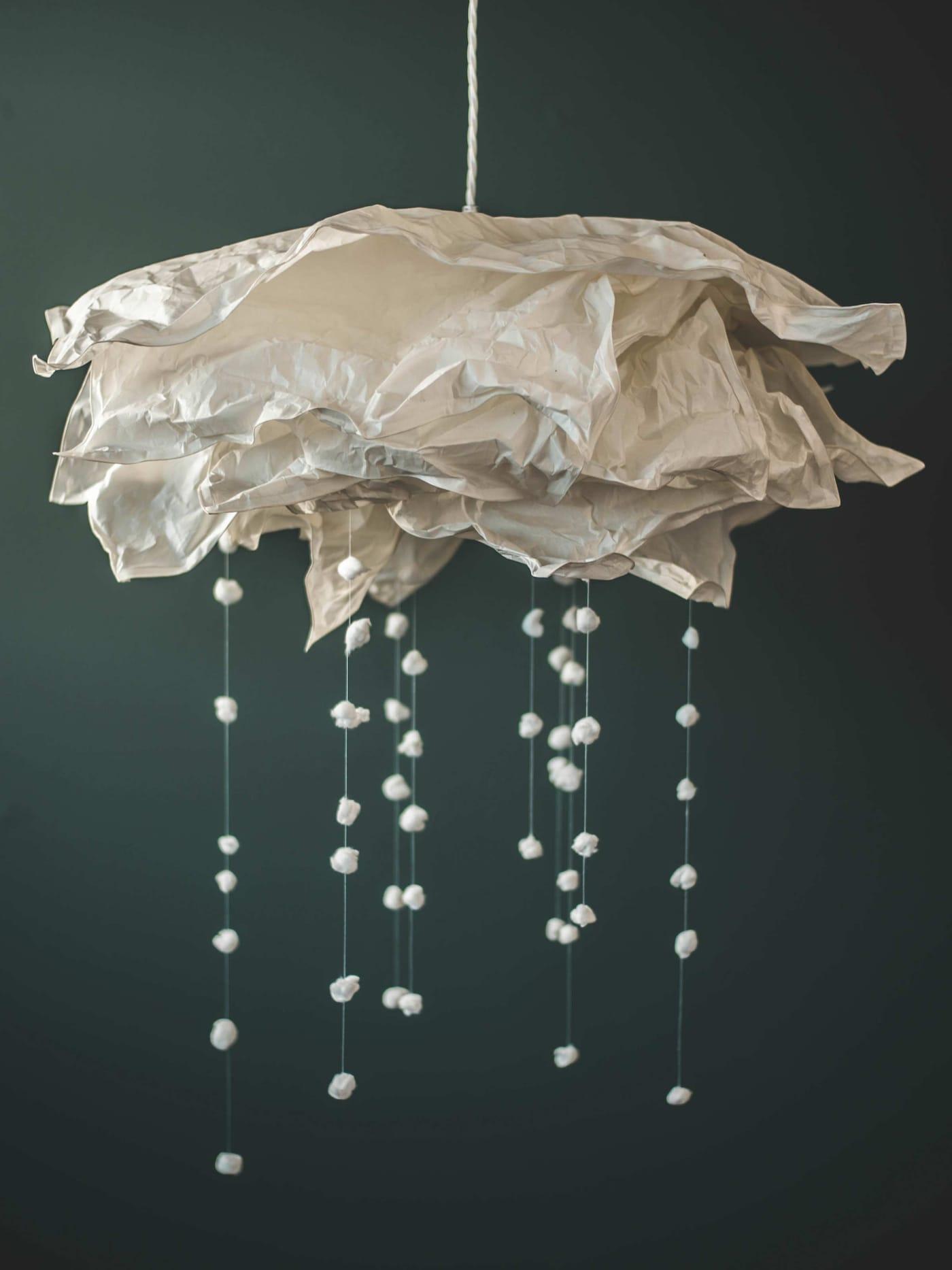 DIY: Snöande lampa IKEA