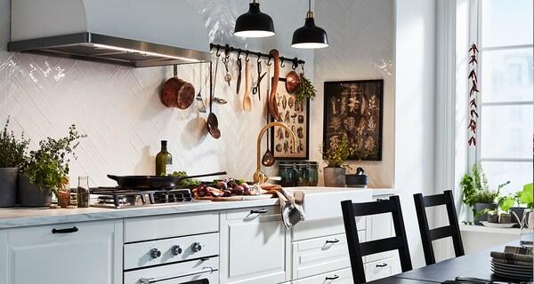 Kuchnia i AGD, BODBYN Front szuflady, kremowy, 60x40 cm