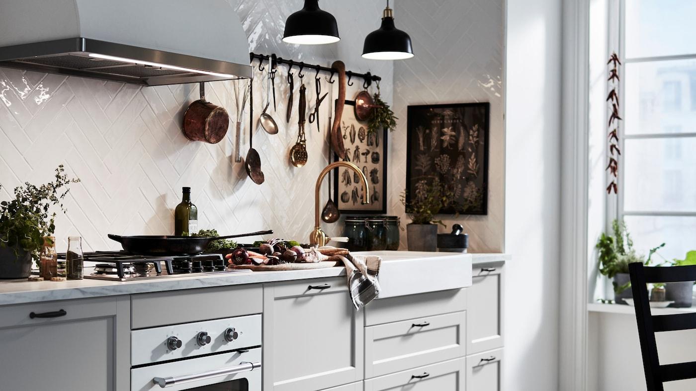 Kuchnia W Stylu Rustykalnym Ikea