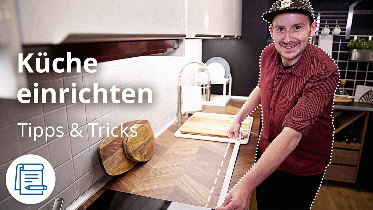 Küche einrichten
