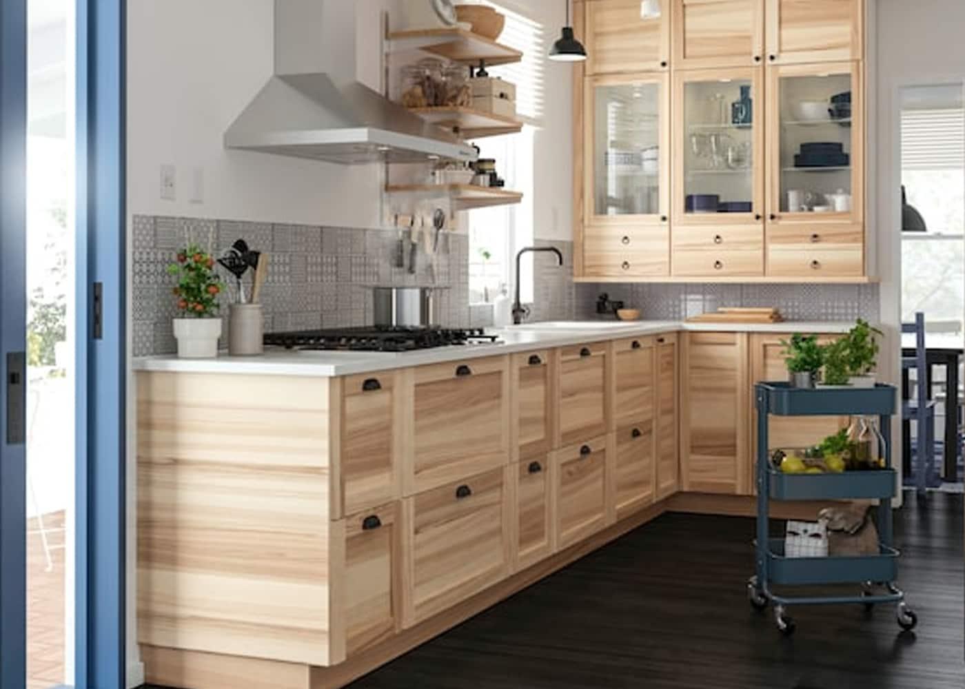 Ein entspannter natürlicher Look – in deiner Küche - IKEA ...