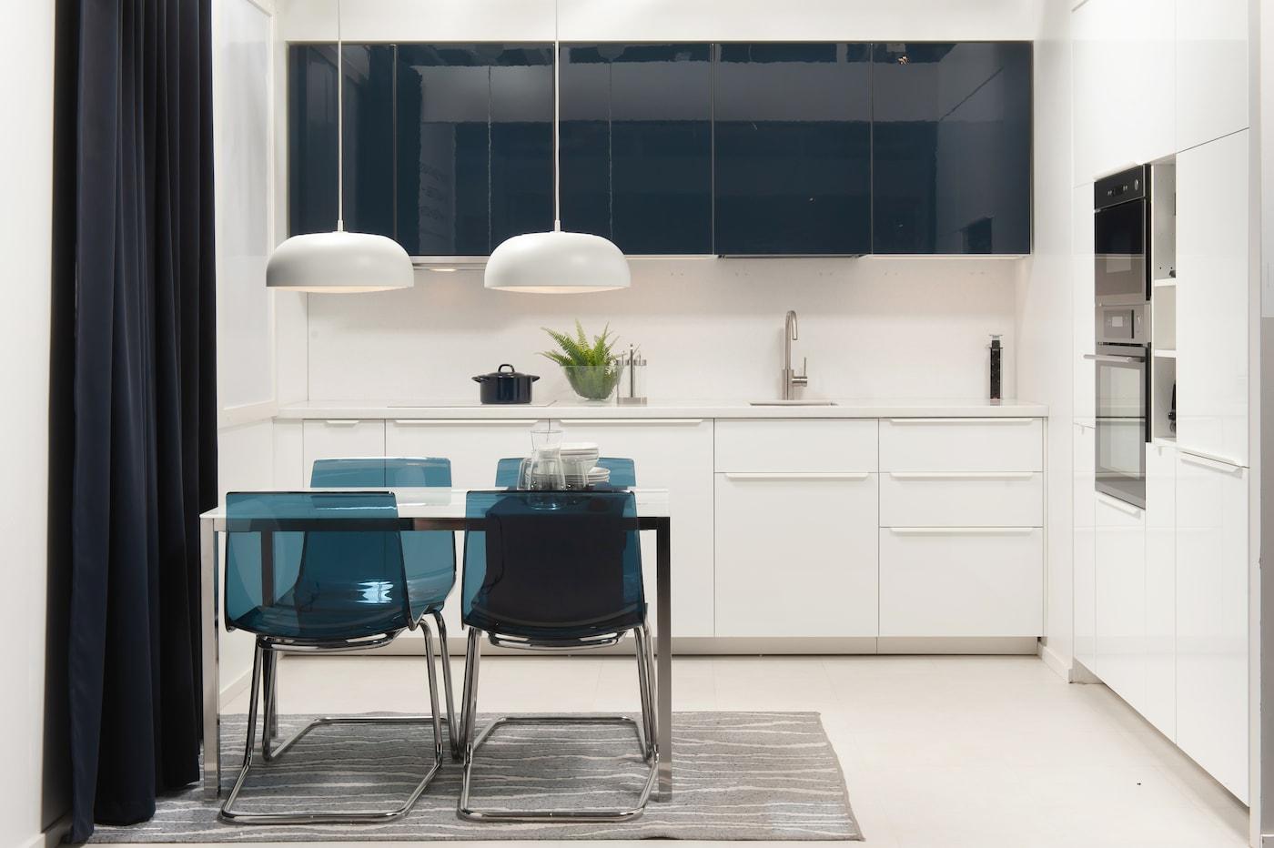 Кухня в стиле хай-тэк