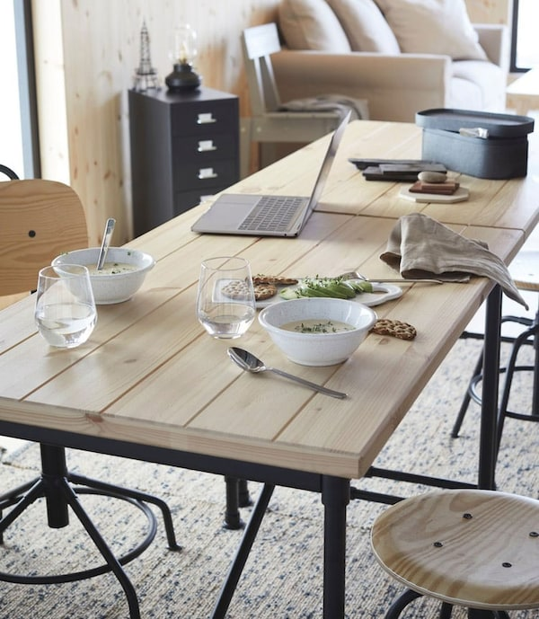 KULLABERG a desk or dining table - IKEA