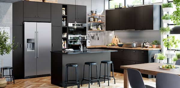 KUNGSBACKA kitchen fronts