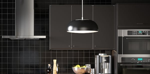 KUNGSBACKA kitchen lighting
