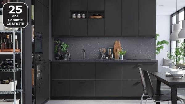 KUNGSBACKA noir cuisine IKEA