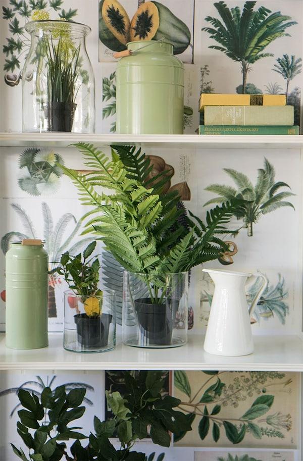 Kunstplanten - interieur - tips - styling - IKEA wooninspiratie