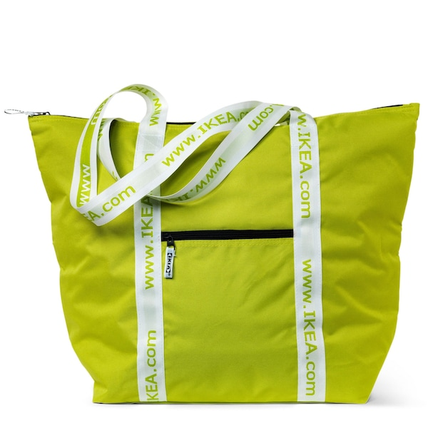 KYLVÄSKA Cooler bag IKEA Handy cooling bag with carrying straps for a day at the beach, for the picnic, or for bringing your food products home today!