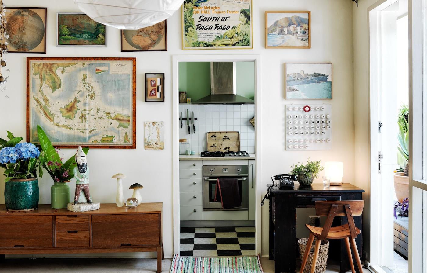La petite maison éclectique d'Ingrid à Sydney