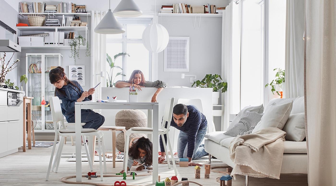 La vie à la maison, les résultats financiers, apprenez à connaître le Groupe IKEA en consultant le Rapport annuel sommaire 2017.