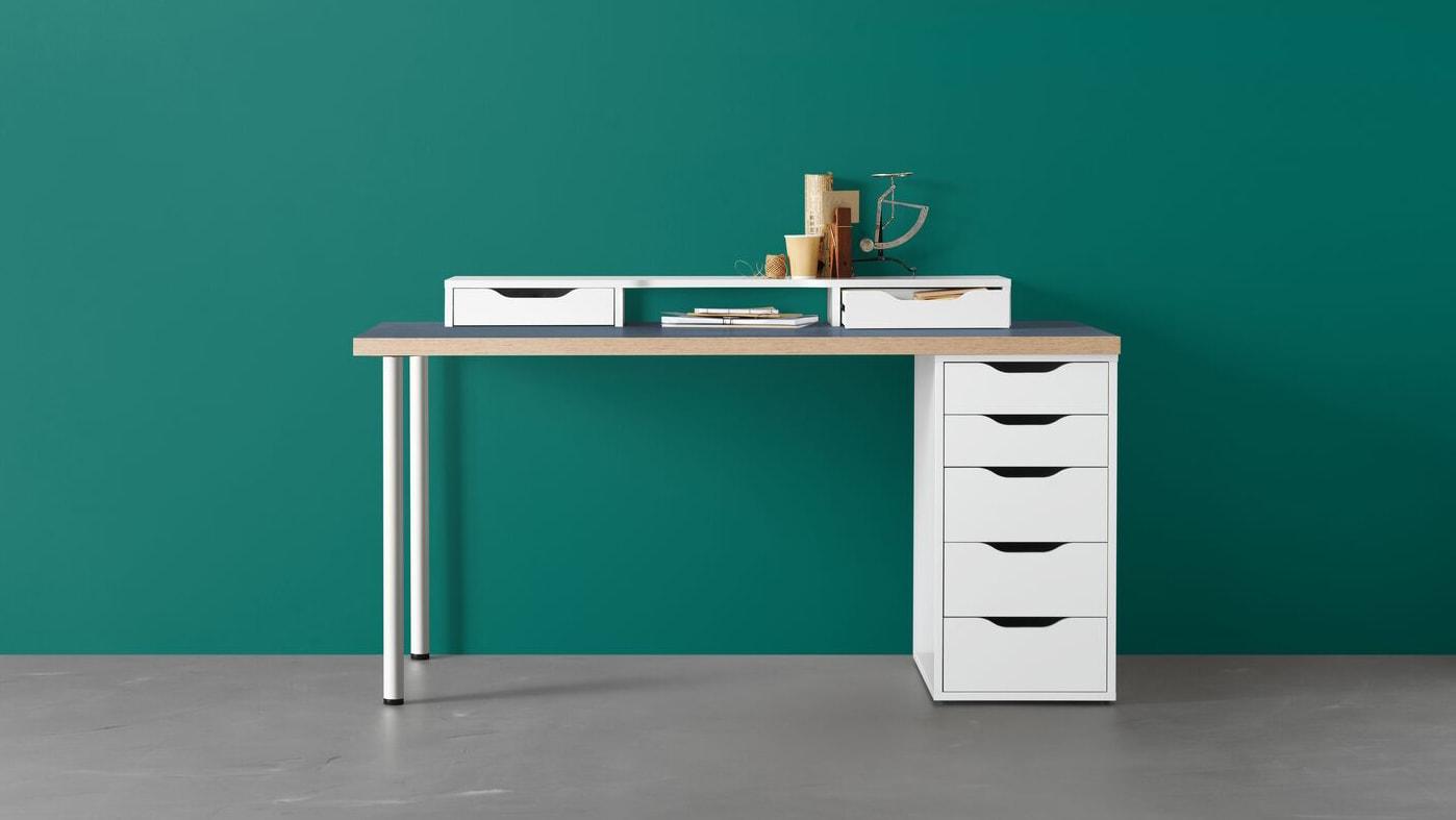 Länk till Designa ditt eget skrivbord.