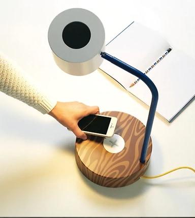 Lámparas que cargan tu móvil.