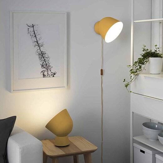лампы в скандинавском интерьере