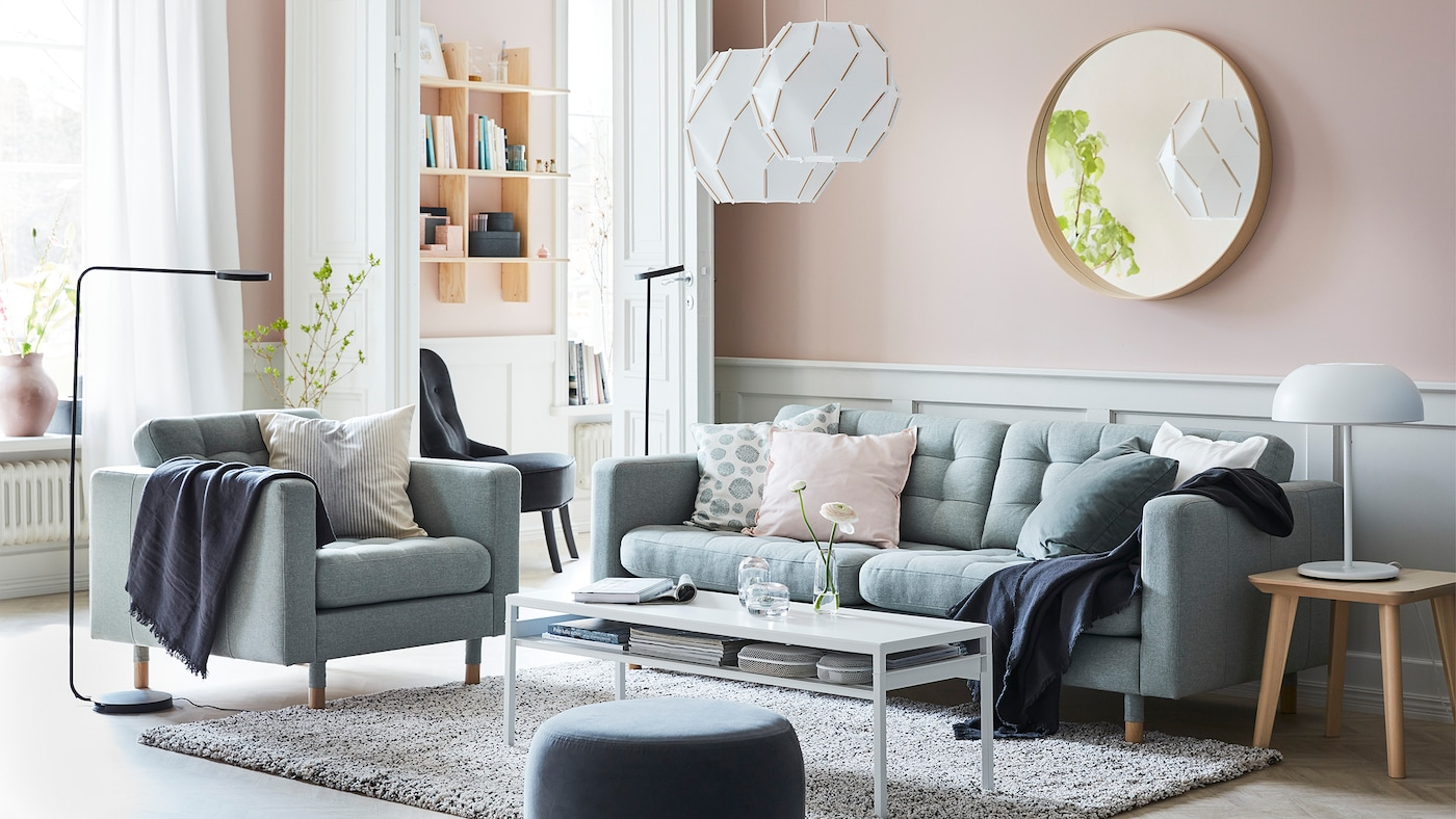 create a calm oasis in your living room  ikea