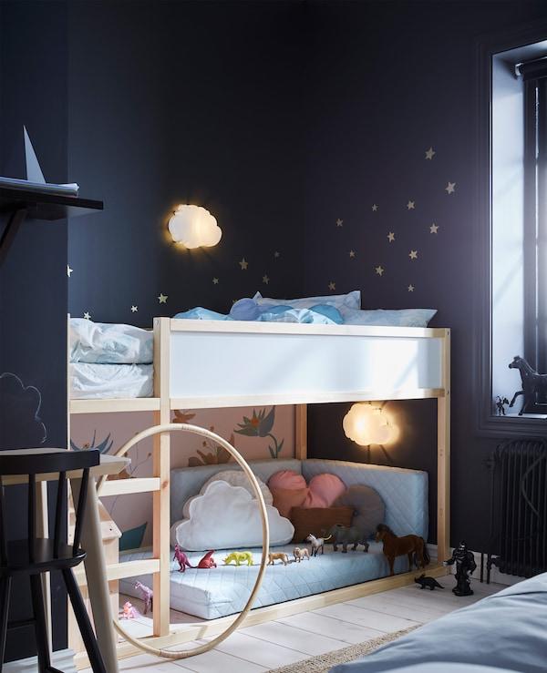 Camera Letto Matrimoniale Ikea.Un Unica Camera Da Letto Per Genitori E Bambini Ikea Svizzera