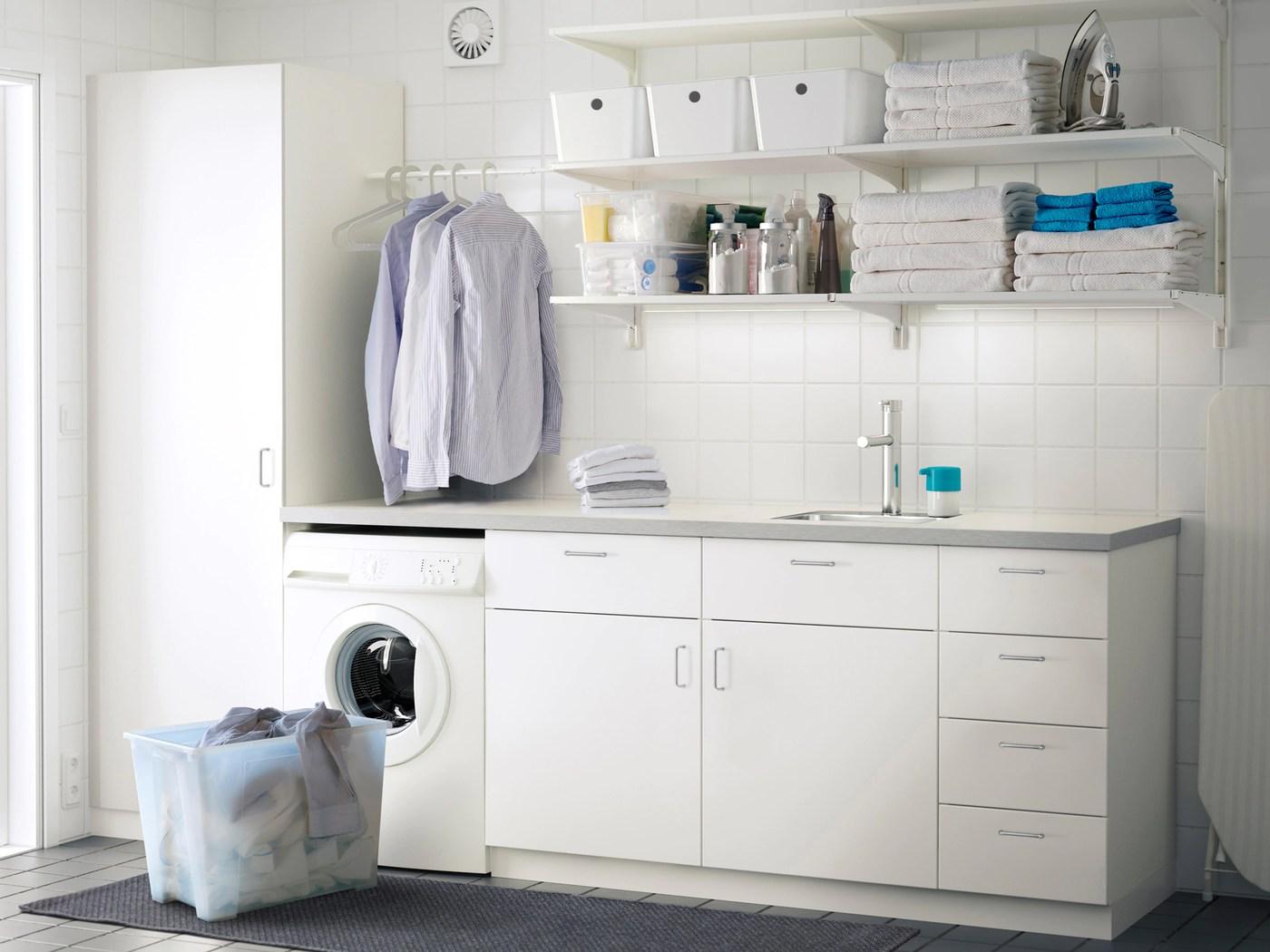 estateria para poner encima lavadora secadora ikea
