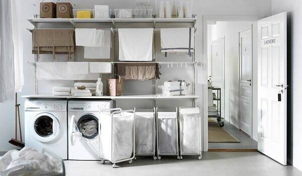 Arredo Bagno Lavanderia Ikea.Idee Per L Arredamento Per La Tua Lavanderia Ikea Ikea