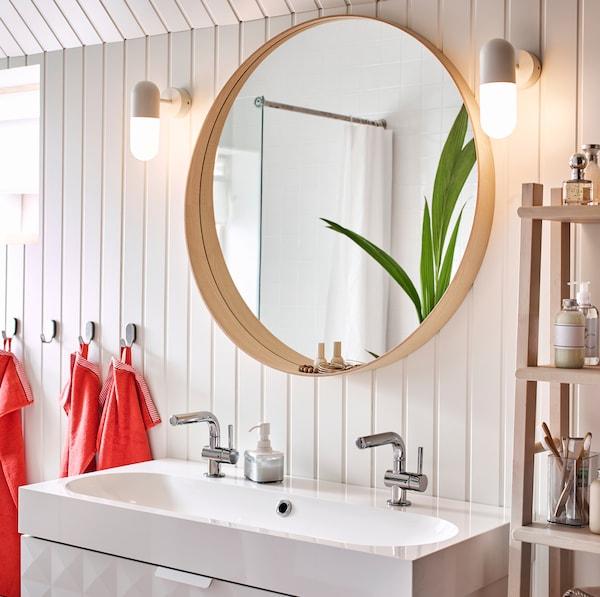 Applique Miroir Salle De Bain Ikea.Un Endroit Ou Se Detendre Et Se Ressourcer Ikea