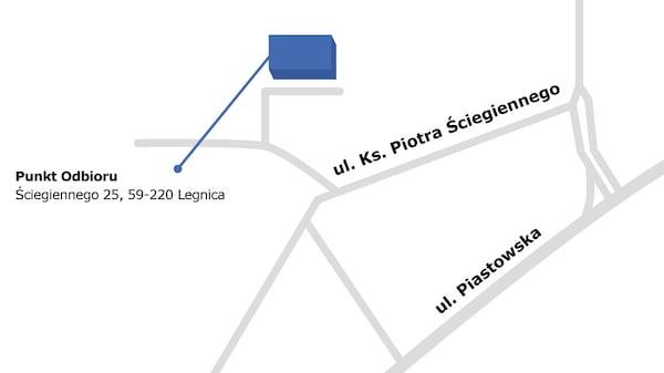 Legnica - Punkt Odbioru Zamówień