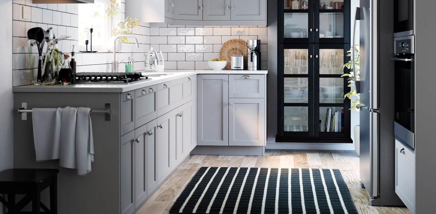 LERHYTTAN light gray kitchen