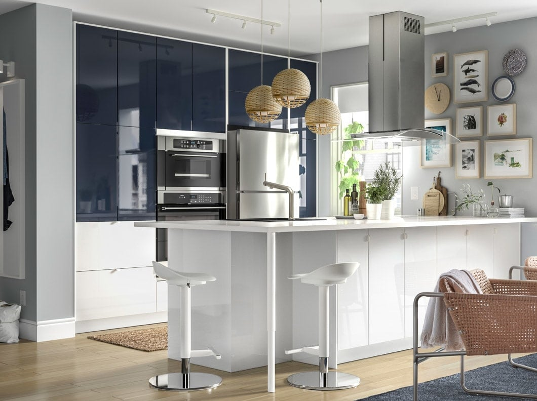 Électroménagers Cuisine Cuisines Ikea De Armoires Et 0XkOP8nw