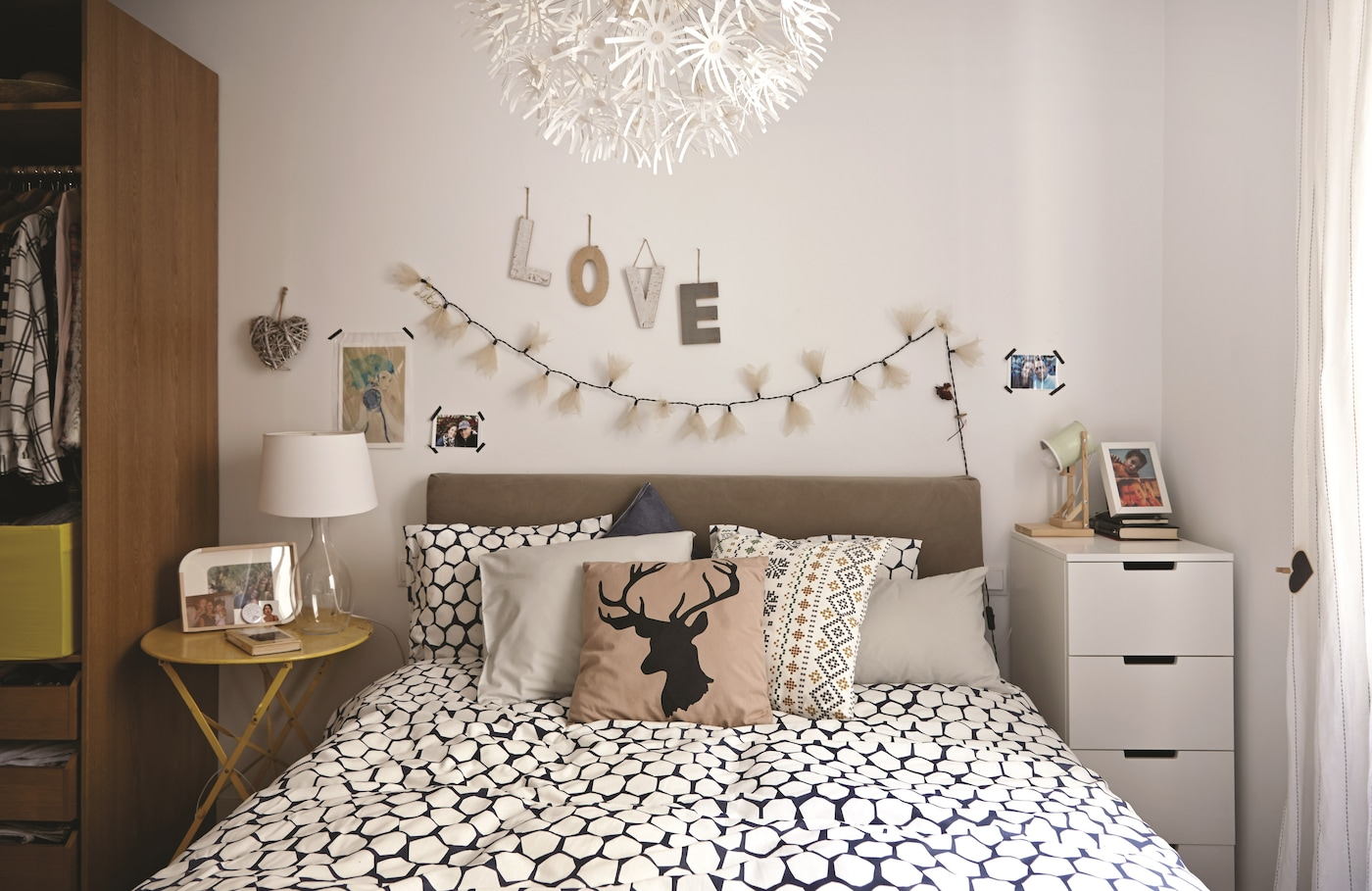Smart ideas for bedroom storage - IKEA