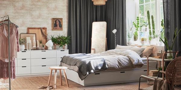 Schlafzimmer Betten Matratzen Schlafzimmermobel Ikea