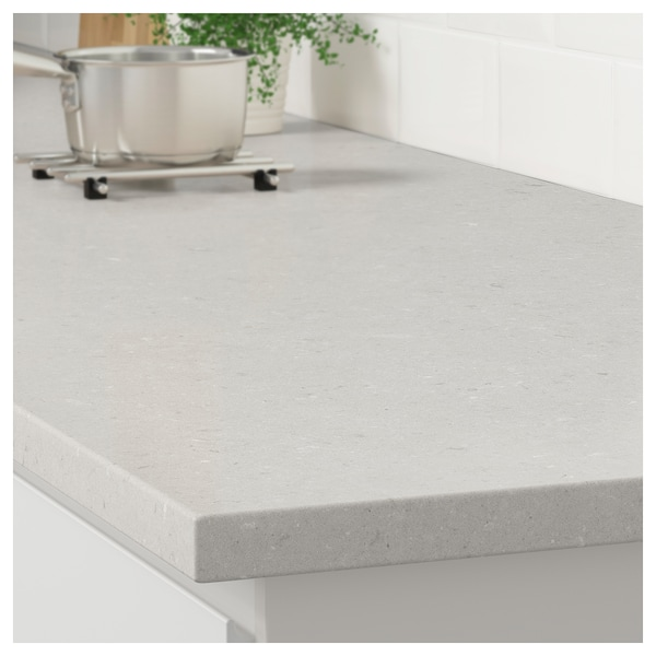 Light gray/beige marble effect
