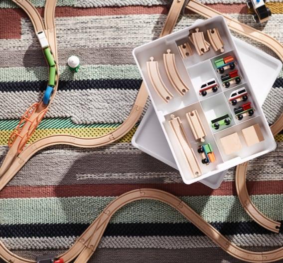 LILLABO Vlak s tračnicama