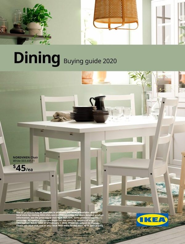 Link to 2020 IKEA Dining buying guide