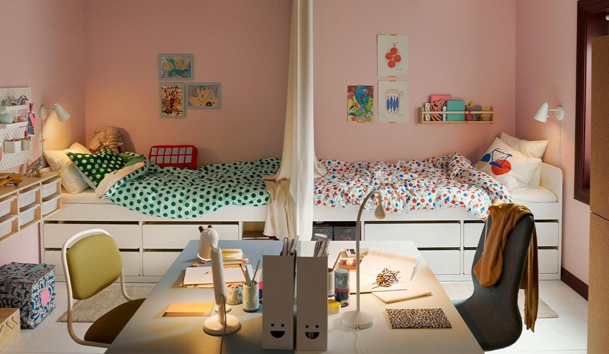 Link to children's room inspiration.