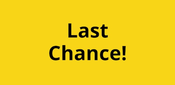 link to Last Chance page