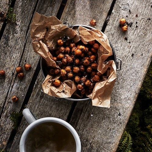 Link to recipe- Chai and chilli toasted chickpeas