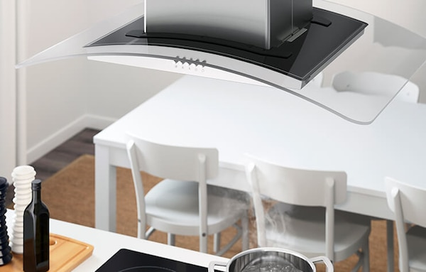 Link to shop extractor hoods and filters and get 50% off select appliances