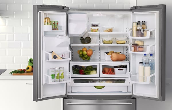 Link to shop refrigerators and freezers and get 50% off select appliances