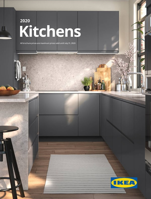 Link to the 2020 IKEA Kitchens brochure